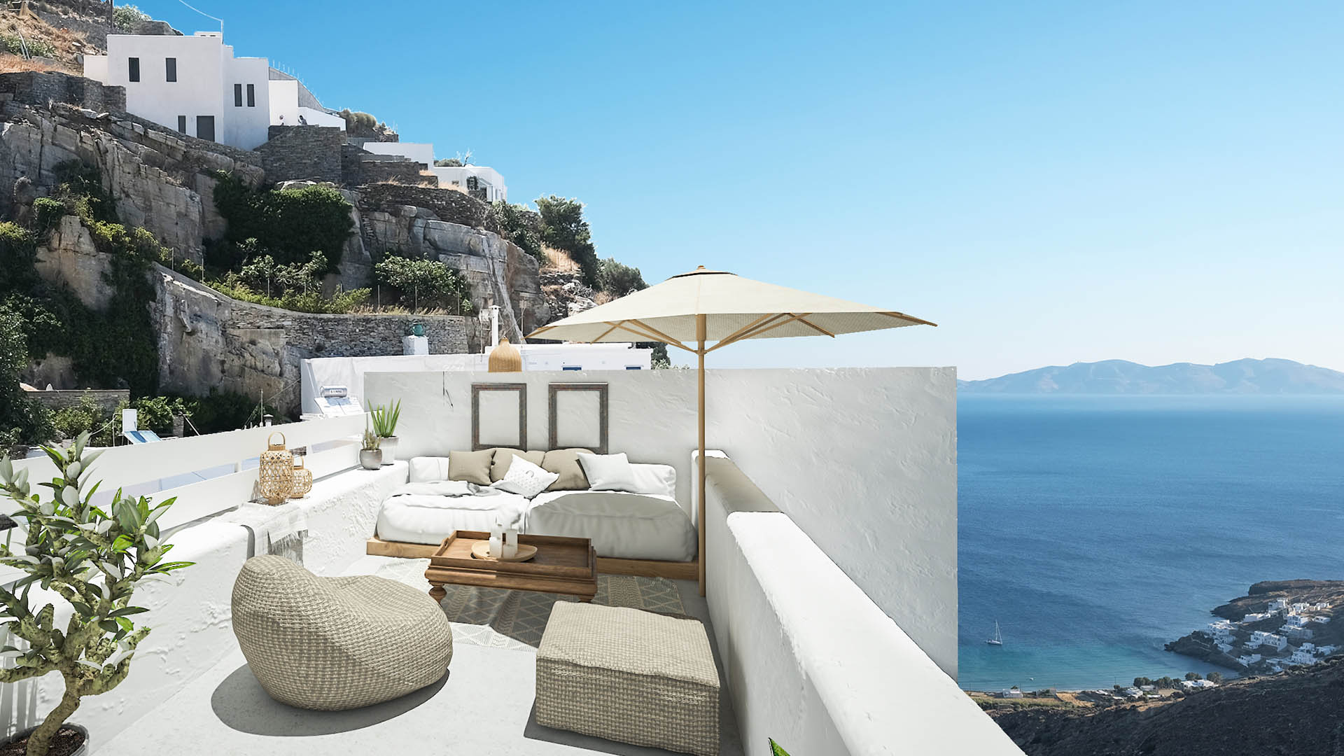 Living-Theros_Classic-Double-Room-with-Sea-View